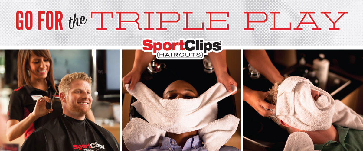 The Sport Clips Haircuts of Carmel Triple Play